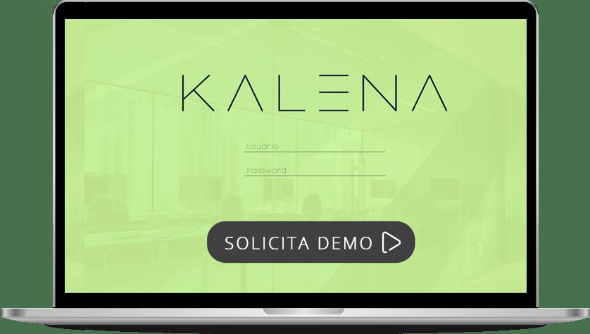 Kalena, desktop software reserva de espacios